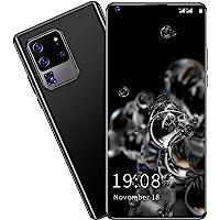 无锁智能手机,6.8 英寸高清穿孔全屏手机 S30U PRO 双卡双待智能手机 2GB + 16GB 高清相机表面识别…