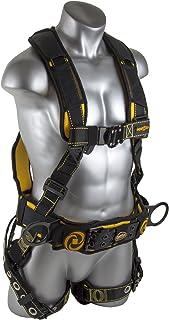 Guardian 秋季保护旋风结构胸背带 QC 胸部/QC 腿/TB 腰带/侧边 D 形环,黑色/黄色 XXL 21036