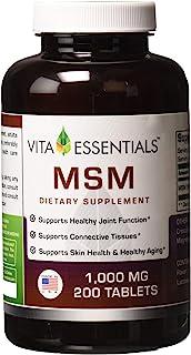 Vita Essentials Msm 1000 毫克 200 片
