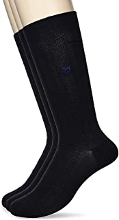 GUNZE 郡是 POLO BCS 商务袜 同色 3双装 男士 PBL011