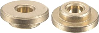 uxcell 法兰套筒轴承 4mm 孔径 8mm 外径 4mm 长 12mm 法兰直径 2mm 法兰厚度烧结青铜自润滑衬套 2 件