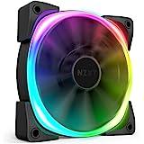 NZXT Aer RGB 2 PC机箱风扇 支持RGB 140mm HF-28140-B1 FN1448