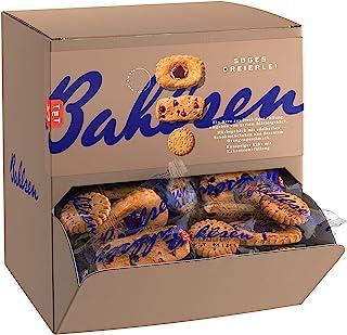 Bahlsen 百乐顺 混合装甜点 988 克/盒——三种饼干 Deloba 松饼,Hit 夹心巧克力饼干,Chokini碎巧克力曲奇,传统烘焙点心,每个独立小包饼干约150 克,