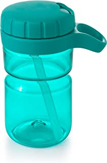 OXO Tot Twist Top 水瓶,12 盎司 蓝绿色 12 盎司