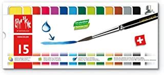 Caran d'Ache Fancolor Tempera, 15 Colors