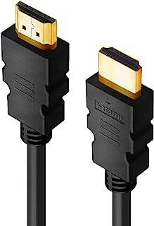 DDL HDMI 电缆 1.5m 高速 4k 兼容(A 型男性到 A 型男)电视游戏音频连接线黑色