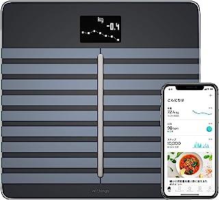 Nokia 智能体重称 Body Cardio 体脂称 家用体重秤 可测身体成分 心脏健康 黑色
