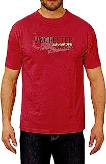 winchester spargo2短袖 t 恤红色