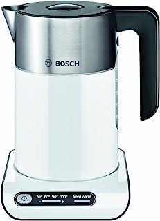 Bosch 博世 TWK8631GB Styline系列水壶-1.5升,白色/银色