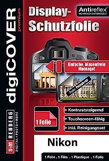 digiCOVER 相机屏幕保护膜 抗反射尼康 KeyMission 170