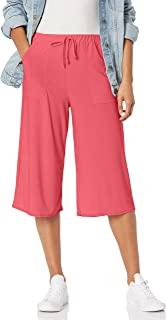Star Vixen 女式加大码贴袋七分裤子,珊瑚色,3X