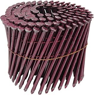 WAKAI 钢丝连接彩色钉子 3.8X90毫米 150根X10卷 红色