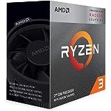 AMD Ryzen 3 3200G Processor (4C/4T, 6MB cache, 4.0GHz Max Bo…