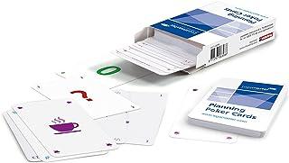 Legamaster 7-123200 Planning 扑克套装,13 张扑克牌,每张4位用户,颜色分类