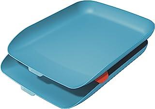 Leitz Set 字母托盘 舒适 2 件套 蓝色