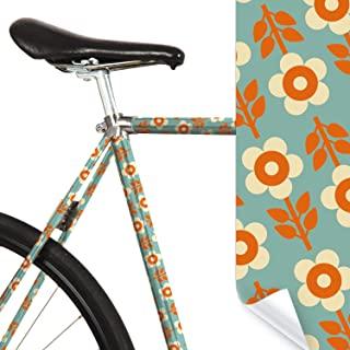 MOOXIBIKE 中性款 – 成人 Fahrradfolie mit Muster für Rennrad 公路自行车贴纸,薄荷色,1 x 150 x 13 厘米