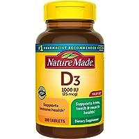 Nature Made - 维生素 D3 1000 IU - 300 片剂