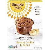 Simple Mills Almond Flour Mix, Banana Muffin & Bread, Natura…