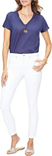 NYDJ 女式 Misses Ami 紧身牛仔裤,带口袋刺绣