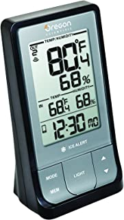 Oregon Scientific 蓝牙湿度温度计 黑色 RAR213HG