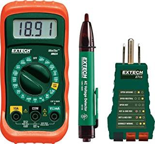 Extech MN24-KIT 家长电气测试套件 3 MN24-KIT