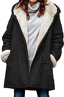 GOSOPIN 女式无袖连帽毛衣背心保暖外套,带口袋