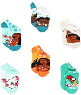 Disney Princess Moana 女童短袜 6 双装