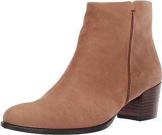 ECCO 爱步 Shape 35 Stitch 型塑35粗跟系列 女子踝靴