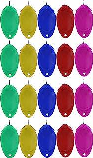 20 件手工缝纫针线器,塑料线环针插入 DIY 针线器手工机缝纫工具,用于缝纫工艺、针织工艺、绗缝、DIY 艺术(颜色随机)