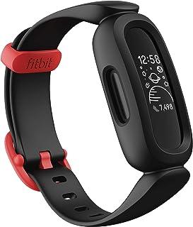 Fitbit 健身仪 Ace 3 适合儿童使用 8天电池生活黑色×运动红【日本正品】FB419BKRD-FRCJK