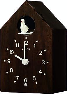 Lorus 挂钟,木质(枫木贴面),棕色,19.2 x 12 x 9.4 厘米
