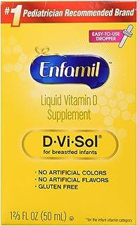 meadjohnson 美赞臣 enfamil 铂睿 D-Vi-Sol 维生素D补充滴剂,50毫升(2瓶)