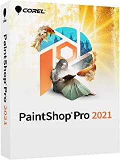 Corel PaintShop Pro 2021 | 照片编辑和图形设计软件 | 人工智能供电功能 [PC 光盘] | Pro|1 设备|永久|PC|光盘