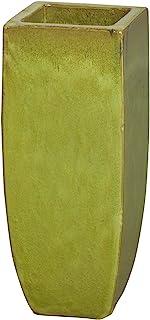 Emissary Home & Garden Citron SQ 高筒花盆,23 英寸(约 58.4 厘米)高