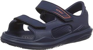 Crocs 卡骆驰 中性儿童Swiftwater Expedition踝带凉鞋