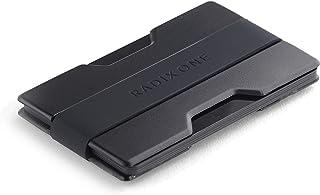 Radix One Slim 钱包信用卡包,9 厘米 黑色 黑色
