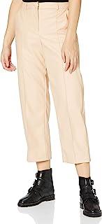 ONLY Onlhera 女士仿皮直筒裤 PNT 长裤