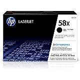 HP 惠普 58X   CF258X   墨盒   黑色   适用于 HP LaserJet Pro M404 系列、M…