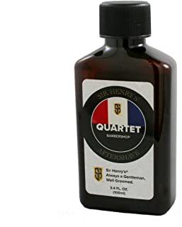 Sir Henry's Aftershave, Soothes, Tones, and Refreshes (Quartet)