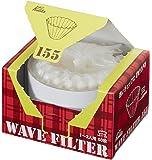 Kalita Wave Filter 咖啡过滤纸 KWF 白色 1~2人用