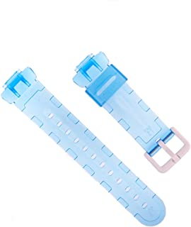 Casio Casio 原装替换表带适用于婴儿 G 手表型号 BG-169A-2V,BG169A-2VCR