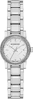 瑞士罕见钻石银色表盘 26mm 女式不锈钢腕表 City BU9220