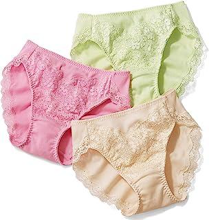 Cecile 短裤 *棉 蕾丝 不同颜色 3件装 比基尼款 收腰显瘦 EC-721 女士