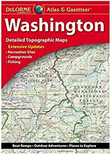 Garmin Atlas & Gazetteer - 华盛顿