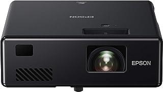 Epson 爱普生 EF-11 3LCD 全高清1080P 1000流明,150英寸显示屏,HDMI 1.4,Miracast,游戏和家庭影院投影仪 - 黑色