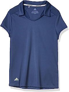 adidas 高尔夫纯色时尚 Polo 衫