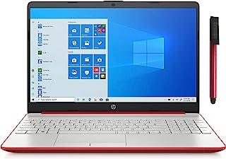 HP 惠普 15 15.6 英寸笔记本电脑_ Intel Pentium Gold 6405U 2.4GHz_ 16GB DDR4 内存,512GB SSD_ AC WiFi_ 蓝牙 4.2_ Type-C_ HDMI_网络摄像头_Scarle...