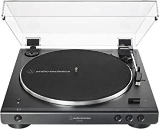 Audio-Technica 铁三角 AT-LP60XBT-BK 全自动无线皮带驱动转盘,黑色(ATLP60XBTBK)