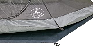 CAPTAIN STAG 单杆帐篷 圆锥体状 六角形 300UV 3-4人用