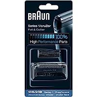 Braun 博朗 1系列 10B 电动剃须刀刀头套装,黑色